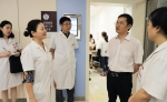 吴良和副主任督导市妇幼保健院公立医院综合改革首日情况 - 卫生厅
