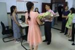 赖明才带队开展教师节慰问活动 - 人民代表大会常务委员会