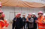 市城乡建委党组成员、副主任李明带队深入建筑工地强调2018年度春节期间安全稳定工作 - 建设厅