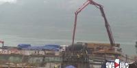 江津油溪长江大桥进入主塔施工阶段 - 重庆晨网