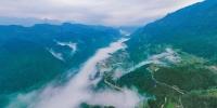 无人机航拍:巫溪茶山村的春天 - 重庆晨网